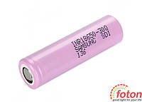 Battery Li-ion Samsung 18650, 3,7V 3000mAh