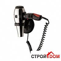 Профессиональный фен гостиничный настенный Nofer 02057 черный