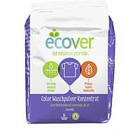 Бесфосфатный стиральный порошок концентрат для цветного белья ECOVER, 1,2 кг