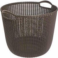 Корзина для вещей Curver Knit 30 л темно-коричневая N40520720