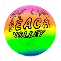 Мяч детский резиновый 466-518 (500) пальма, 80грамм, 23см