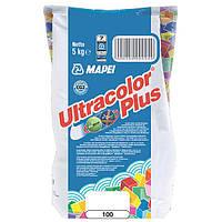 Затирка Mapei Ultracolor Plus 100 белая 5 кг N60307180