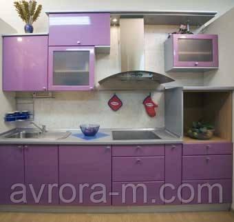 Кухни под заказ. Фасады из пленочного МДФ
