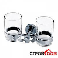 Подставка для зубных щеток и стаканов Aqua-World Florida FL07-1 КСА007.07.1 хром