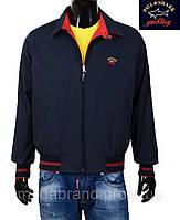Куртка-ветровка мужская двухсторонняя Paul & Shark-046 красная XL