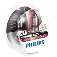 Автолампа Philips VisionPlus 12972 H7 12В 55W PX26D 2 шт N40716399