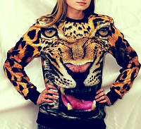 Стильный женский свитшот Bat Norton с тигром