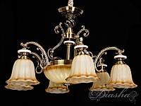 Люстра в античном стиле на 8 ламп 8419/6+2