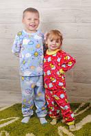 Пижамы для девочек (махровые) разные цвета и рисунки