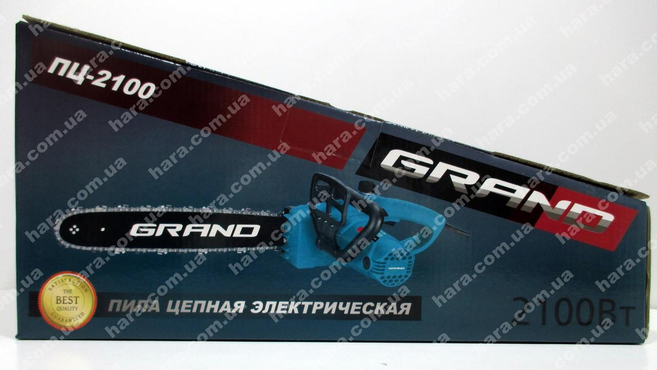 Электропила GRAND ПЦ-2100
