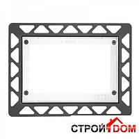 Монтажная рамка для установки стеклянных панелей TECEloop на уровне стены TECE 9.240.646 белая