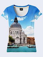 Женсая футболка Санта-Мария делла Салюте