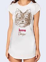 Туника Love dogs