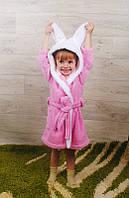 Халат детский махра/велсофт (разные расцветки)