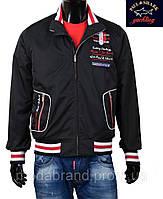 Куртка спортивная весна-осень.М размер,Ветровка Paul Shark -098 черная