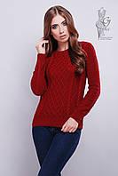 Красивые женские свитера Дебора из шерстяной нити