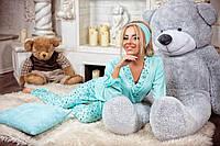 Женский домашний костюм Пижама ментол+