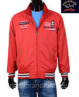 Куртка-ветровка  мужская Paul Shark-100 красная