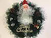 Рождественский, новогодний венок на двери