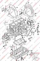 Блок цилиндров (BJB/ под ремонт) Volkswagen Caddy III (2004-……) 038021AT