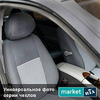 Чехлы для Citroen Jumper, Серый + Серый цвет, Автоткань