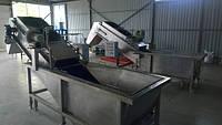 Мойка барботажная с выводящим конвейером