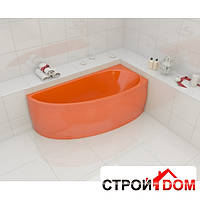 Цветная угловая ванна Artel Plast Бландина правосторонняя