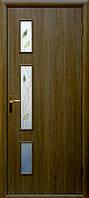 Дверное полотно Герда стекло с рис. Р1 экошпон