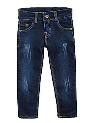 Утепленные джинсы на мальчика, махра, р.80-98