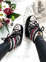 Louis Vuitton Womens Snow Boots / луноходы/ мунбутсы