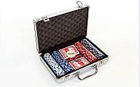 Набор для покера POLER IN ALUMINIUM 200 + NOMINAL