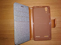 Чехол подставка Lenovo A6000 A6010 книга обложка Goospery с карманами