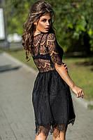 """Нарядное платье с кружевной спинкой """"Macarena"""" 5055 ЯЛ, фото 1"""