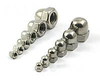Колпачковые гайки М2 ГОСТ 11860-85 сталь А2, А4, фото 1