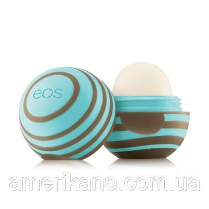Бальзам для губ EOS НОВИНКА! EOS Peppermint Mocha Праздничная мята и шоколад