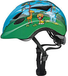 Велошлем  детский ABUS ANUKY Jungle (S)