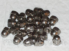Колпачковые гайки М4 ГОСТ 11860-85 сталь А2, А4