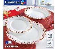 Столовый сервиз IDOL FRUITY на 18 предметов LUMINARC