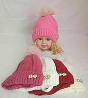 Детская шапка (флис)р. 46-50