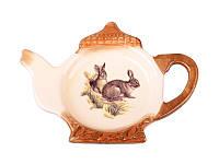 Подставка под чайные пакетики Lefard Охота 1х12х9 см, 358-543