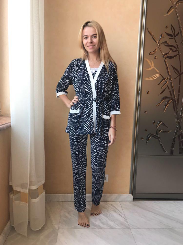 Пижама женская комплект 76476ec67a274