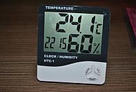 Часы термометр гигрометр   HTC-1