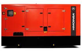 Дизельний генератор Himoinsa HDW-200T5 (124 кВт)