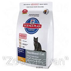 Hills SP Feline Mature Adult 7+ Sterilised Cat, 1,5 кг