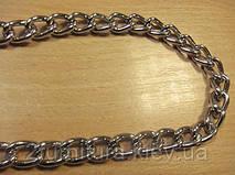 Цепь стальная для сумок (3.1мм) никель, 5м 5350
