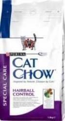 Сухой корм для длинношерстных кошек Cat Chow Special Care Hairball Control, 15 кг
