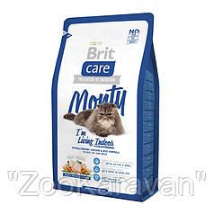 Brit Care Cat Monty Indoor Chicken & Rice Брит для кошек живущих в помещении. Курица и Рис, 2 кг