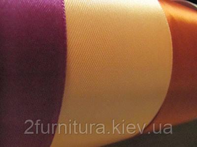 Атласная лента (5см - 33м)  0533  (ФУКСИЯ)