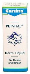 Жидкие витамины для обмена веществ Canina Petvital Derm Liquid 25 мл (Арт. - 702206)