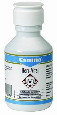 Жидкие витамины для собак при заболеваниях сердца Canina Herz-Vital 250 мл (Арт - 112050), фото 2